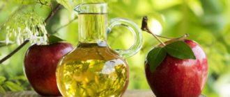 Яблочный уксус для кожи лица от прыщей