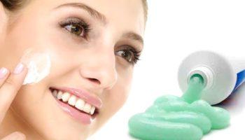 Помогает ли зубная паста от прыщей