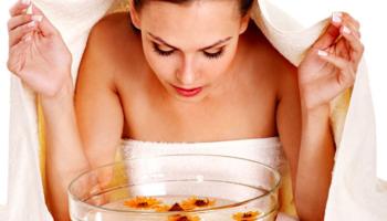 Как сделать паровую ванночку для лица